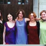 Ang, Amy, Me, Jen, Gina