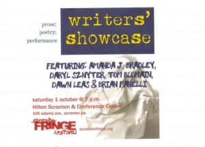 Writer's Showcase Fringe